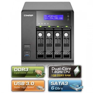 QNAP TS-459 Pro II Network Attached Storage