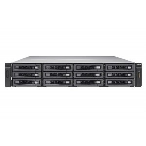 QNAP TS-EC1280U R2 12-bay 2U Rackmount NAS with Intel Xeon E3 v3 Processor