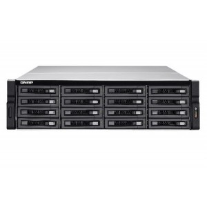 QNAP TS-EC1680U R2 16-bay 3U Rackmount NAS with Intel Xeon E3 v3 Processor