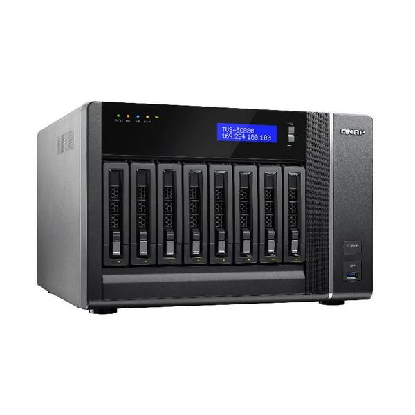 QNAP TVS EC880 E3 8G 8 Bay High Performance Edge Cloud