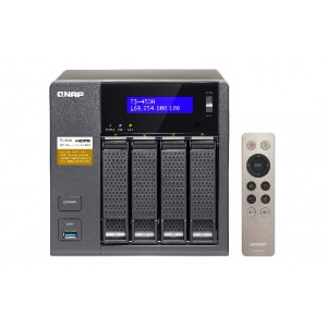 QNAP TS-453A-4G 4-Bay NAS with QTS and Linux Combo