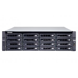 QNAP TS-1673U-8G High-performance Quad-Core 16-bay Rackmount NAS / Single Power Supply