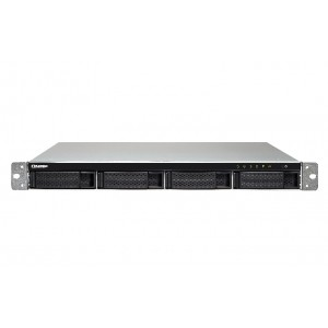 QNAP TS-453BU-4G Quad-Core 4-bay Rackmount NAS / Single Power Supply