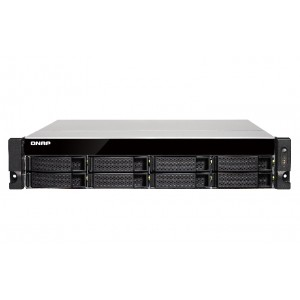 QNAP TS-853BU-4G Quad-Core 8-bay Rackmount NAS / Single Power Supply