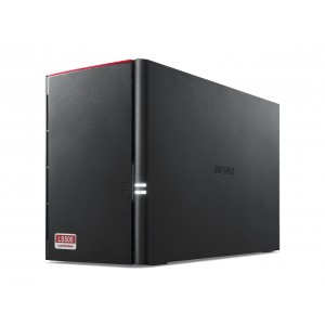 Buffalo LinkStation 500 LS520D0602-AP 2-Bay NAS (3TBx2)