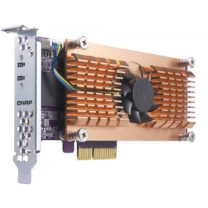 QNAP QM2-2S Dual M 2 22110/2280 SATA SSD expansion card - NAS Thailand