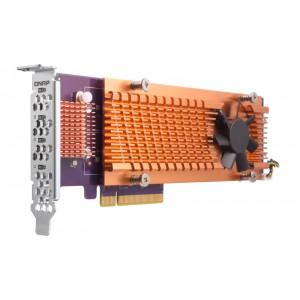 QNAP QM2-4S-240 Quad M.2 2280 SATA SSD expansion card