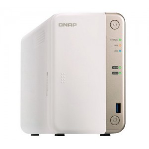 QNAP TS-251B-4G 2-Bay dual-core multimedia NAS with PCIe Expansion