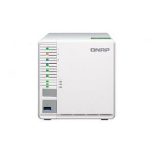 QNAP TS-332X-2G 3-Bay RAID 5 NAS with M.2 SSD slots