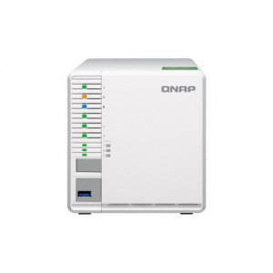 QNAP TS-332X-4G 3-Bay RAID 5 NAS with M.2 SSD slots