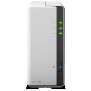 Synology DiskStation DS119j easy-to-use 1-Bay NAS