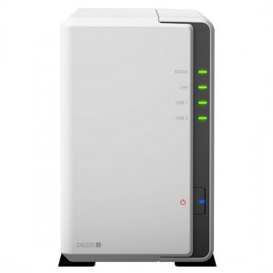 Synology DiskStation DS220j 2-Bay Personal NAS
