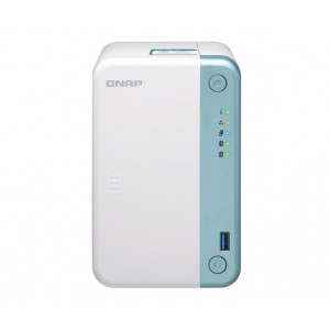 QNAP TS-251D-4G 2-Bay Intel Dual-Core Multimedia NAS with PCIe Expansion