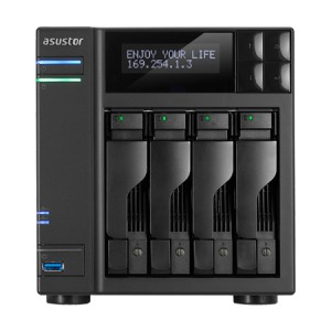 ASUSTOR AS7004T 4-Bay NAS with Intel Core i3