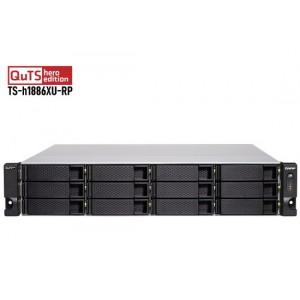 QNAP TS-h1886XU-RP-D1622-32G 18-bay Rackmount NAS with Intel Xeon D Processor / QuTS hero