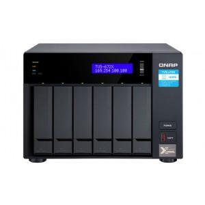 QNAP TVS-672X-i3-8G 6-Bay 10GbE NAS